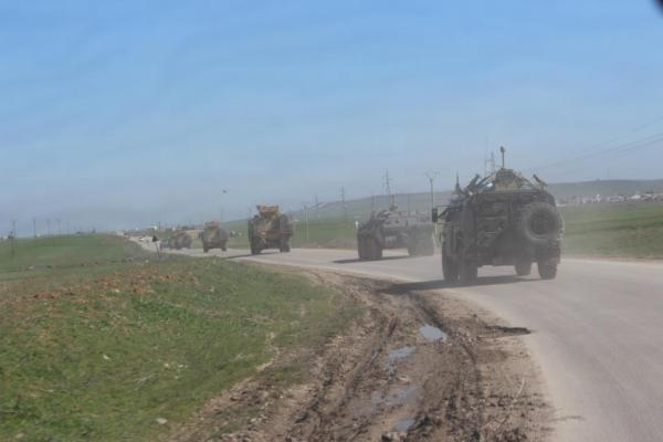 A Russian-Turkish joint patrol will be run west of ad-Darbasiyyah district
