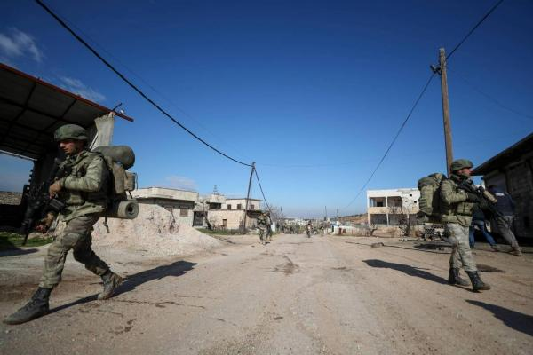 SOHR confirmed 34 Turkish killed soldiers in air strikes in Syria