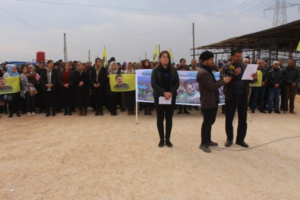 Human rights organizations' silence about what happens to Ocalan makes them lose credibility