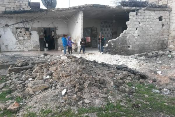Despite UN invitations … Turkish occupation shelled al-Shahba canton