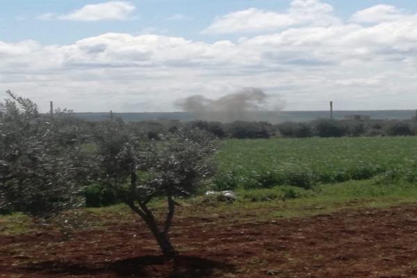Turkish occupation shell Sherawa district's villages
