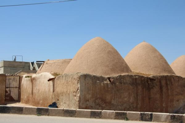 Domed-houses in Manbij still preserve their splendor