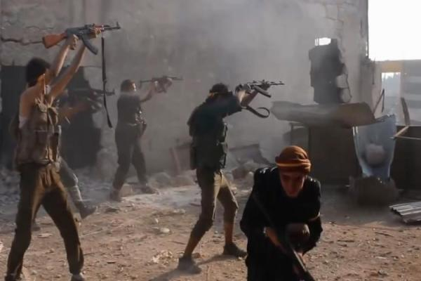 ​​​​​​​Violent clashes between government forces, Turkey's gangs in Idlib