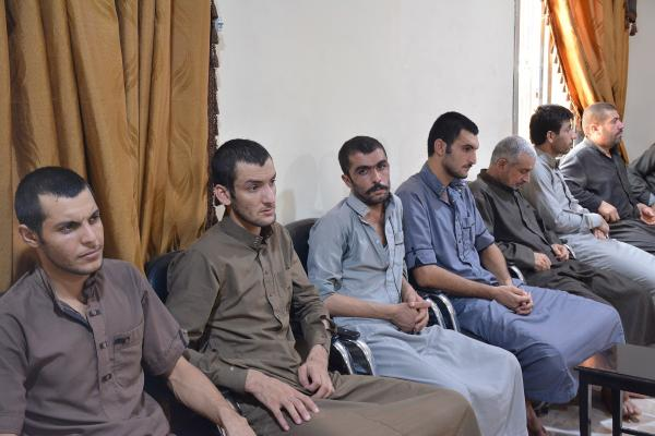 Based on notables' appeals, SDF released a number of detainees