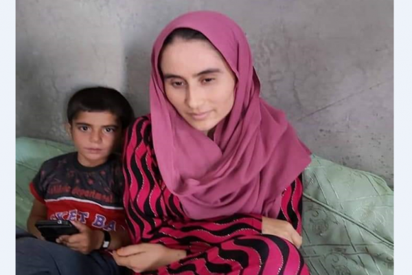 ​​​​​​​Kidnapped woman and her son removed from al-Hol camp, handed over to Yazidi house