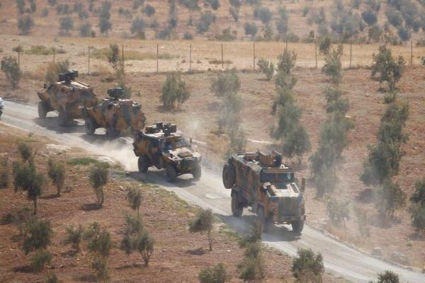 ​​​​​​​Turkish occupation introduces military convoy to