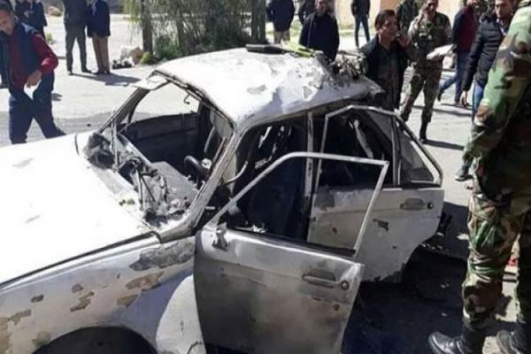 A car bomb exploded in the capital, Damascus