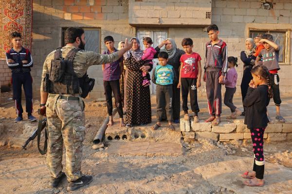 Source: Women abducted from Afrin, mercenary settlers assault woman