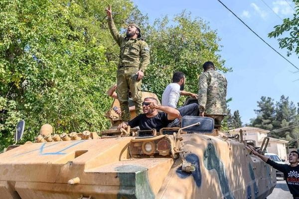Armenia confirms the participation of Syrian mercenaries to fight alongside Azerbaijan