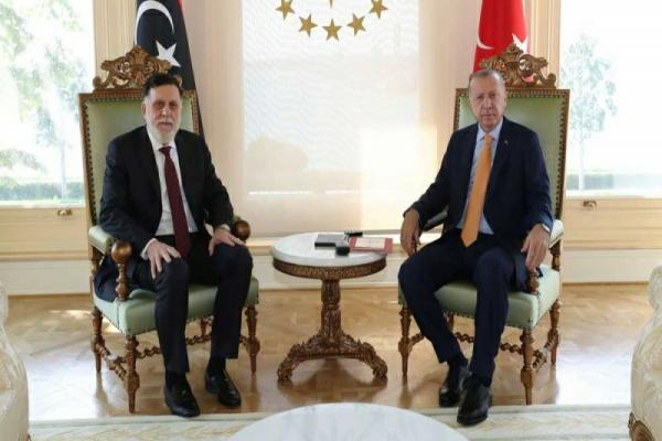 Al-Sarraj visited Turkey recently, observers warn of a scheme to end the political solution