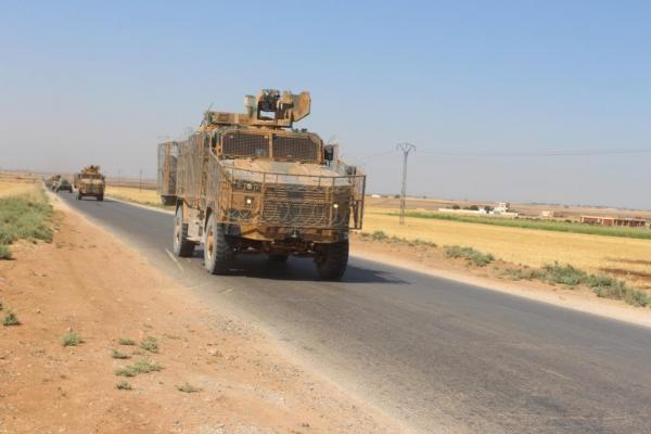 Russian – Turkish 32nd Joint Patrol in Ad-Darbassiye