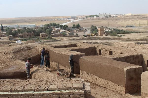 Ongoing work to restore Tal Baidar archaeological site