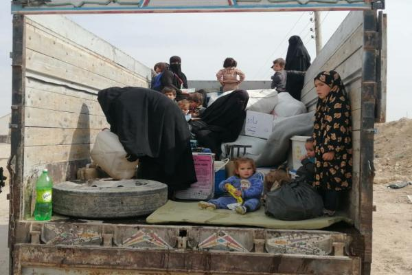 First Syrian families leave Al-Hol Camp today