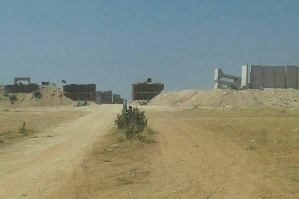Turkish occupation prepares to evacuate Sher Magher point