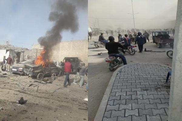 Car bomb explodes at al-Bab