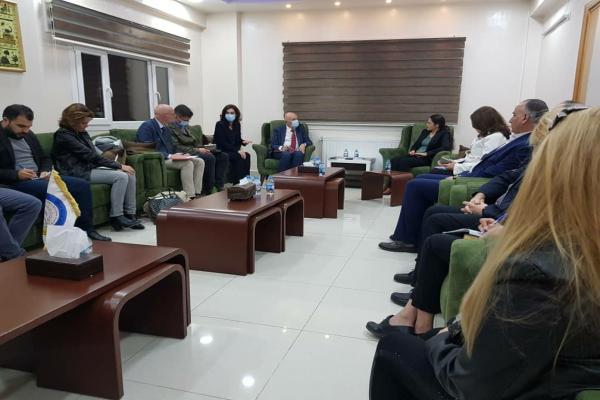 Belgian delegation meets SDC