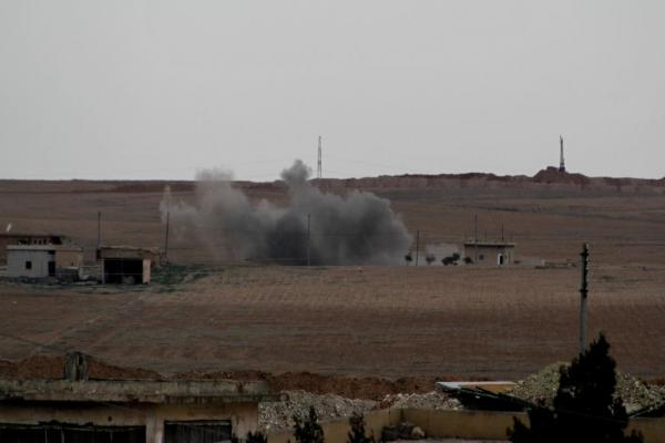 Turkish Occupation systematic destruction of Ain Issa villages
