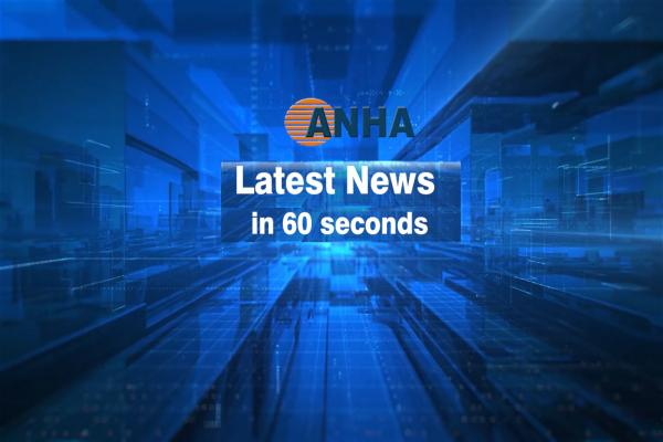 Latest News in 60 seconds