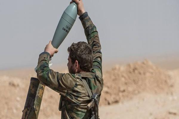 Syrian government forces bombard rural Idlib and Hama with 40 rockets
