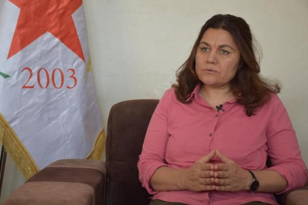Fawza Yousef: If we not develop self-defense means, Kurds' existence is endangered