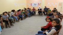 70 children from Tal Hamis preparing to participate in Al-Jazeera Children's Festival