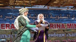 Nazifa Khelo congratulated Manbij liberation anniversary