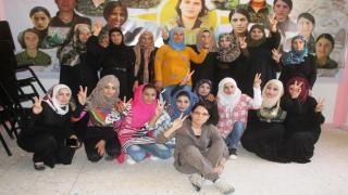 Al-Raqqa's women a year after liberating of IS' blackness-3