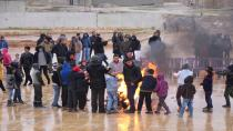 Sit-in events of youth in the Euphrates region in Manbij