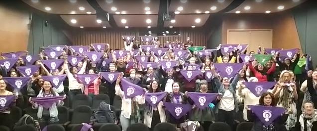 Mujeres de Colombia: apoyamos la eficacia de las mujeres kurdas