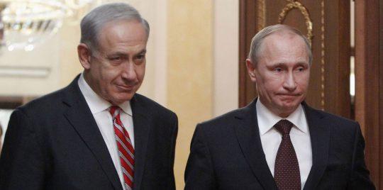 Reunión entre Putin y Netanyahu pospuesta