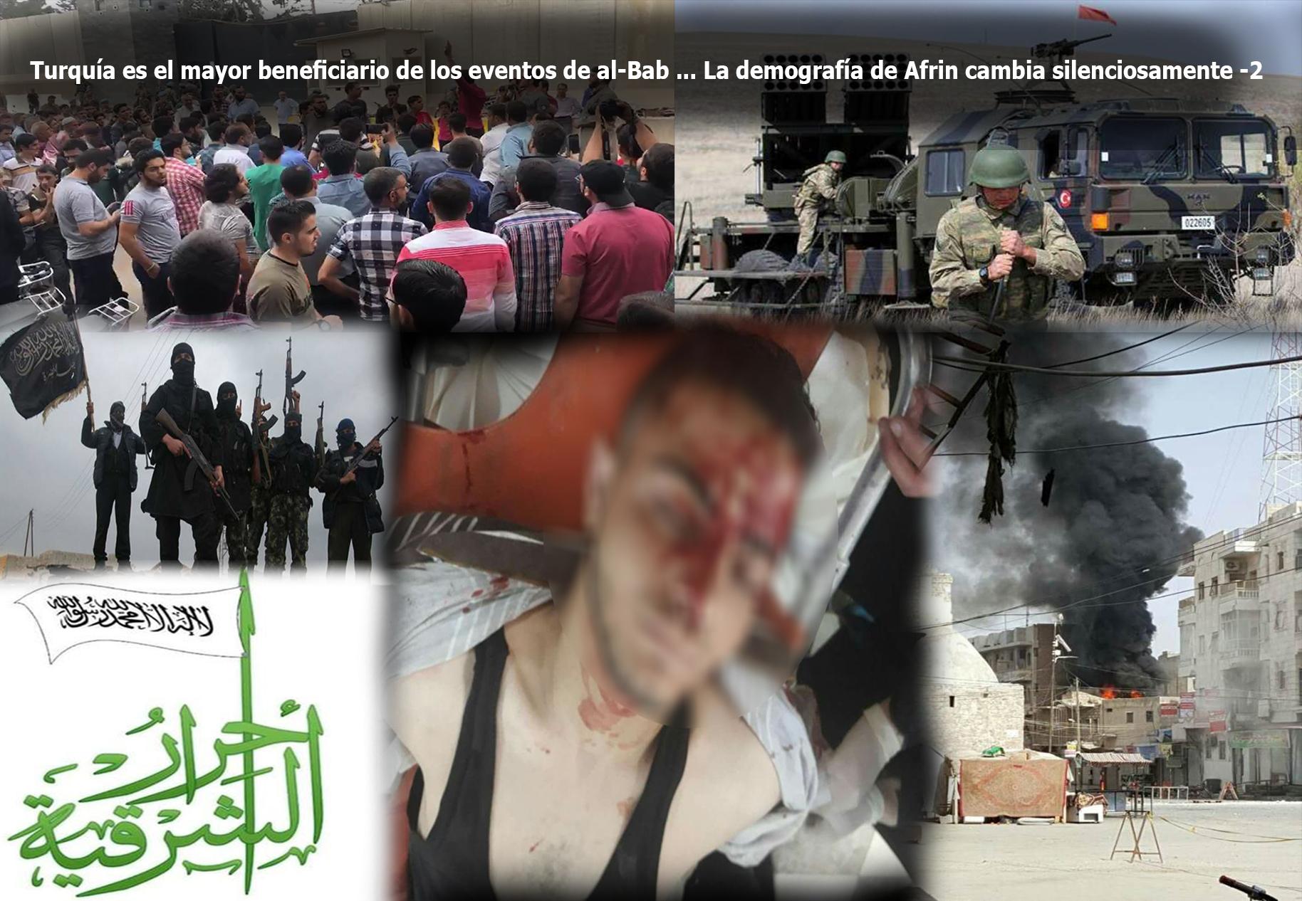 Turquía es el mayor beneficiario de los eventos de al-Bab ... La demografía de Afrin cambia silenciosamente -2