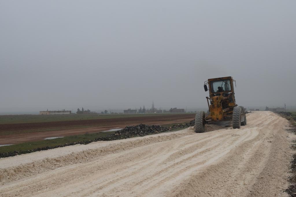 Municipio Popular en al-Jaran logra proyectos de servicio con sus capacidades limitadas