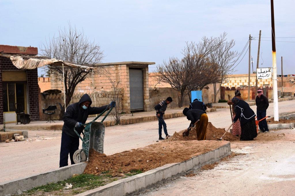 Municipalidad de Ain Issa ... proyectos terminados y otros necesitan apoyo