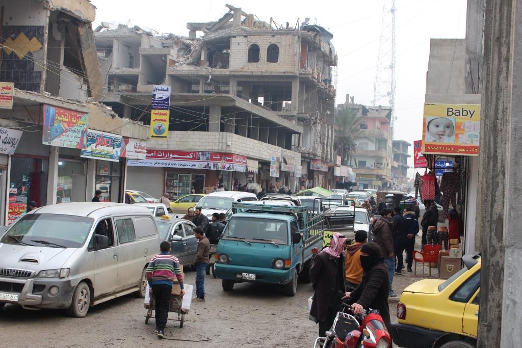 Al-Raqqa después de la liberación recibió más de 480 mil ciudadanos