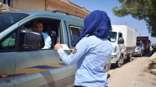 Mujeres: pioneras en la policía de tráfico también