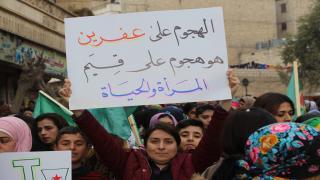 Ocupación de Afrin ... exterminio de mujeres