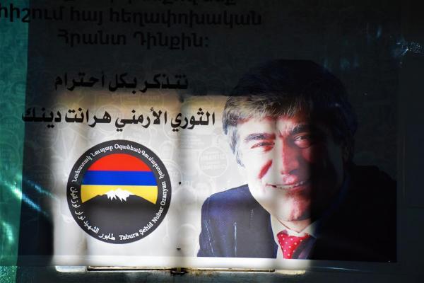 Periodista armenio Hirant Dink conmemorado en su 14 ° aniversario