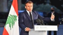Macron pide a Rouhani que deje de interferir en el Líbano y consulta con Putin