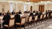 Al-Assad se reúne con delegación rusa en Damasco