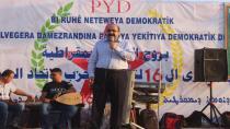 'Projeya me ya demokratîk rêya çareserkirina aloziyê ye'