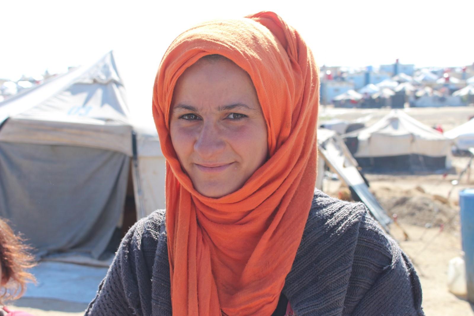 'Tevî ku em li kampê dijîn jî em bi mayîna li Rojava kêfxweş in'