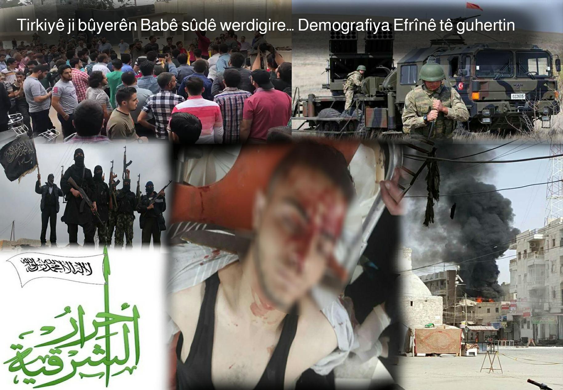 Tirkiyê ji bûyerên Babê sûdê werdigire… Demografiya Efrînê tê guhertin - 2