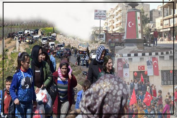 Şêwazên Tirkiyê gelek in û armanc yek e: guhertina demografiya herêmên dagirkirî yên Sûriyê ye