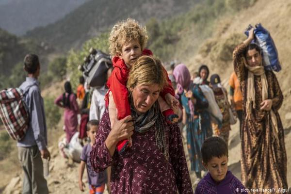 Li dijî faşîzmê berxwedana azadiyê ya jinên Êzidî