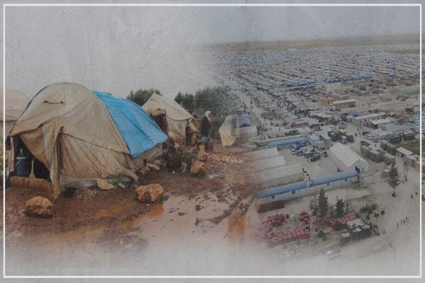 Li Bakur û Rojhilatê Sûriyê zêdeyî milyonek koçber ji alîkariyê bêpar in
