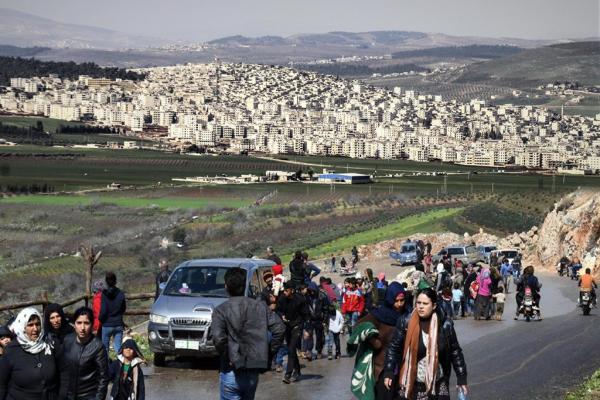 Bajarê ku di dorpêça dagirkerî û qirkirinê de li ber xwe dide: Efrîn
