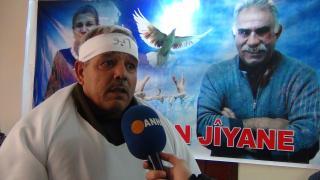 37 kesan ji bo Ocalan li Şamê ketin greva birçîbûnê