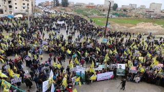 Li Helebê bi hezaran banga azadiya Ocalan kirin