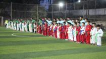 Li Minbicê turnovaya futbolê ya Şehîd Botan Turkman destpê kir