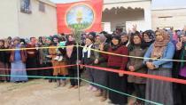 Sersaxî ji malbata şehîd Diyar Efrîn re hate xwestin